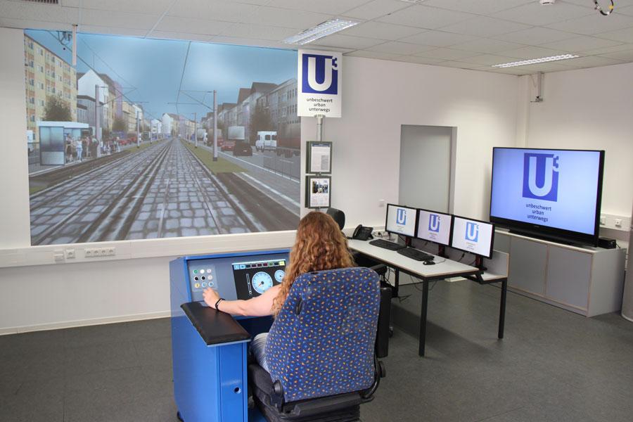 Straßenbahnsimulator
